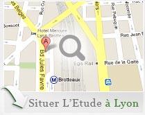 Accéder à l'Etude SELARL ADRASTEE huissiers de justice à LYON en Rhône (69)