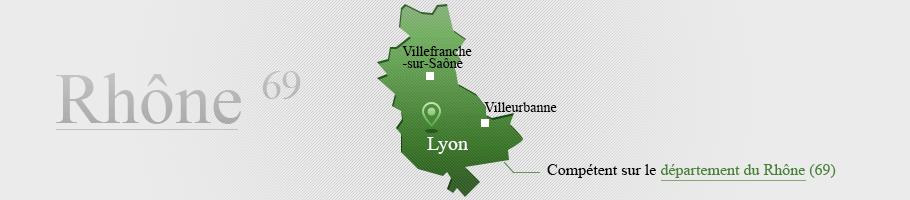 Compétence territoriale Rhône